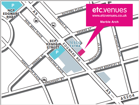 Map of Etc.Venues