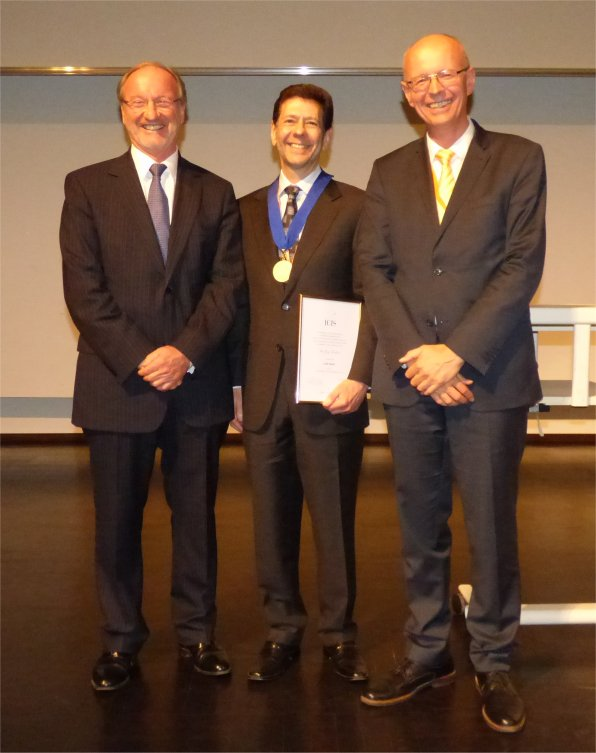 The prestigious ICIS Gold Medal awarded to Dr. Jay Heiken
