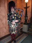 A Scottish Welcome for the Gala Dinner